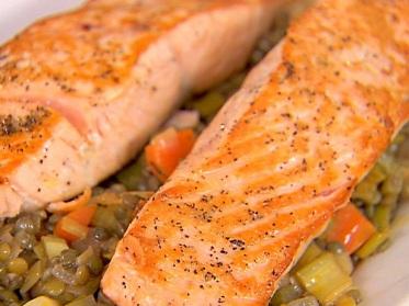 la photo pour vous montrer l'aspect en fin de cuisson - les légumes sont différents, mais pourquoi pas ?